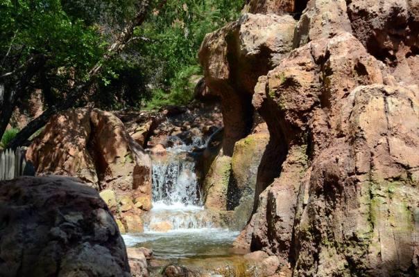 BTMR waterfall