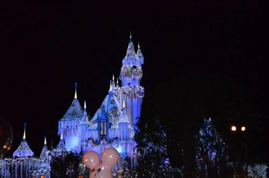 Christmas DL Castle lights
