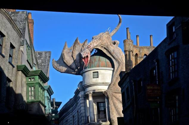 Dragon Diagon Alley