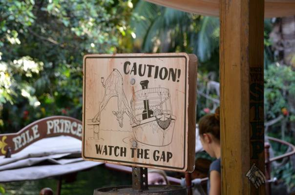 jungle cruise sign