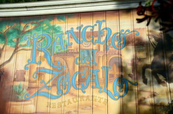 Rancho Del Zocalo sign