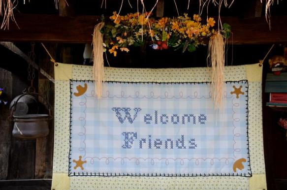 'Welcome Friends'