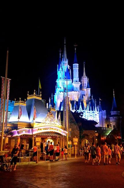 Backside of MK Castle