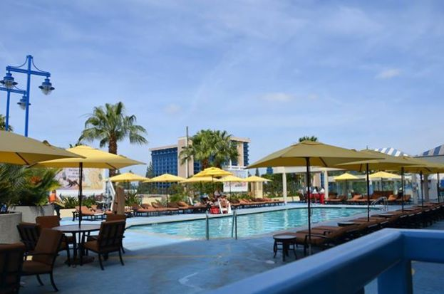 The Paradise Pier Pool