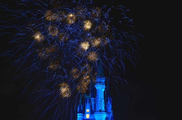 Blue MK Castle
