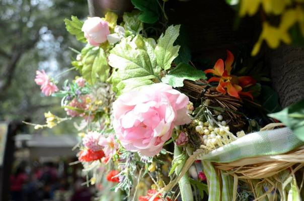 BTRBBQ Flower pink rose