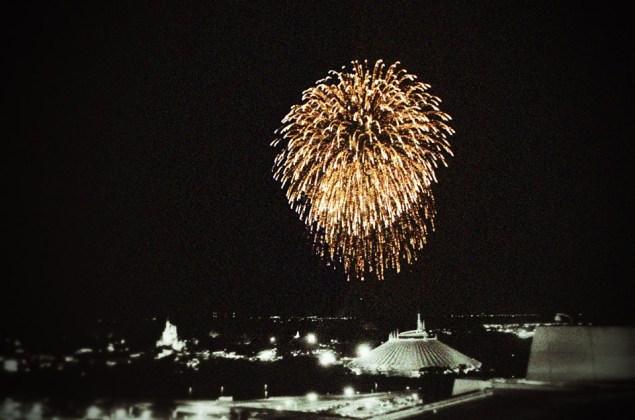 California Grill Fireworks