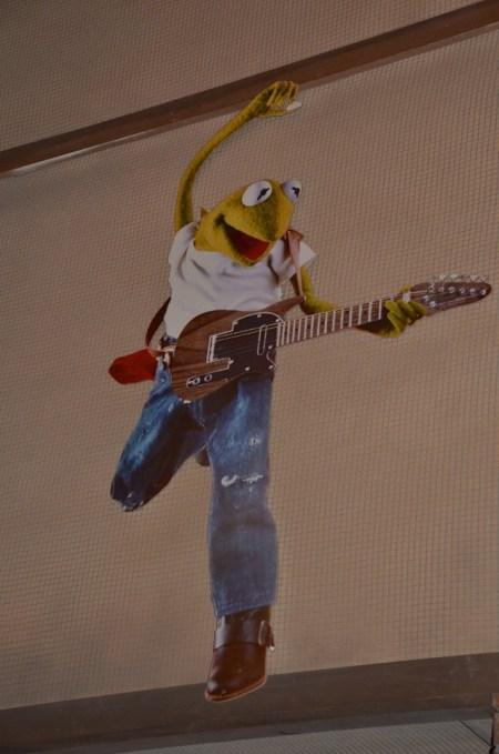 Kermit guitar