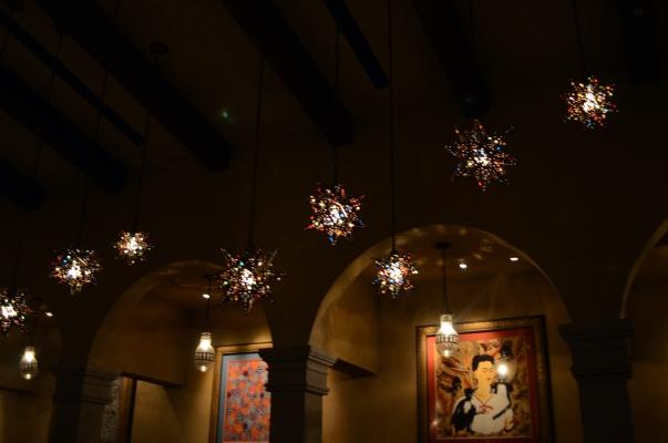La Hacienda lights