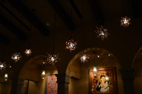 La Hacienda lights