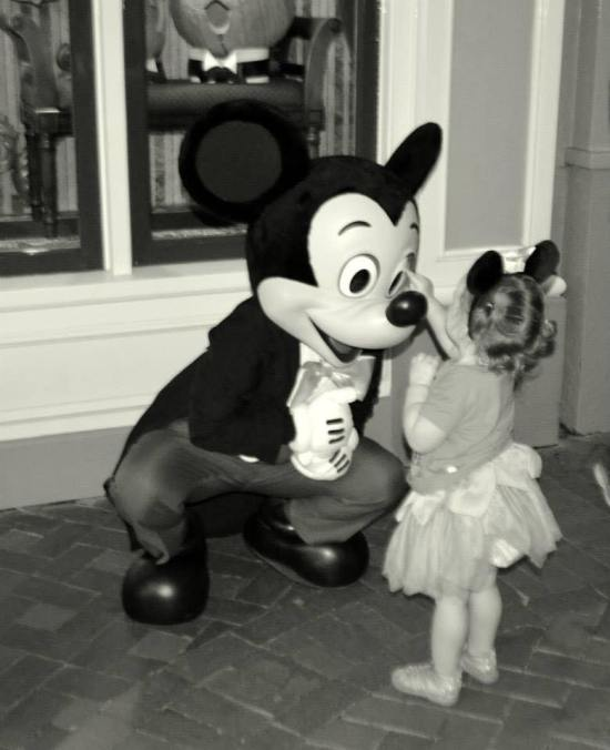 Hallie Mickey Mouse