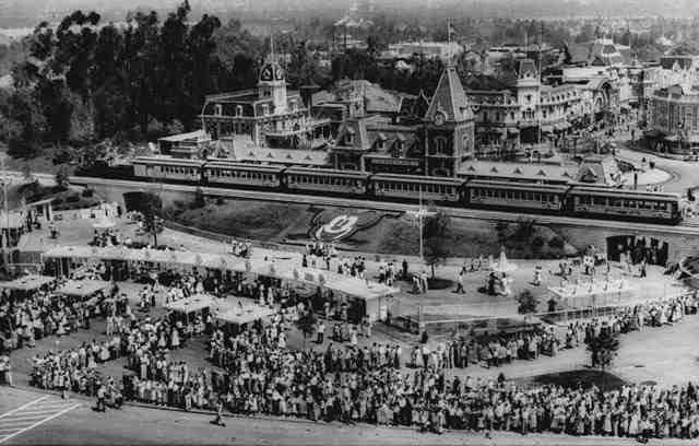 Disneyland Opening Day Facts Wandering In Disney