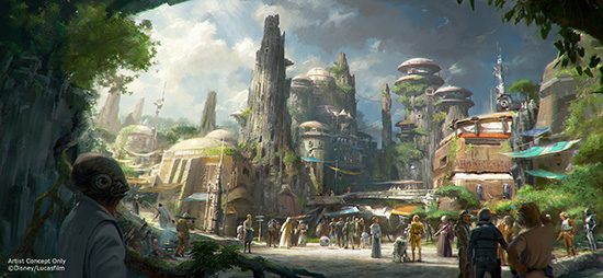 Star Wars will come to Hollywood Studios in a few years. (Photo from the Disney Parks Blog.)