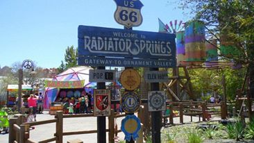 welcome radiator springs