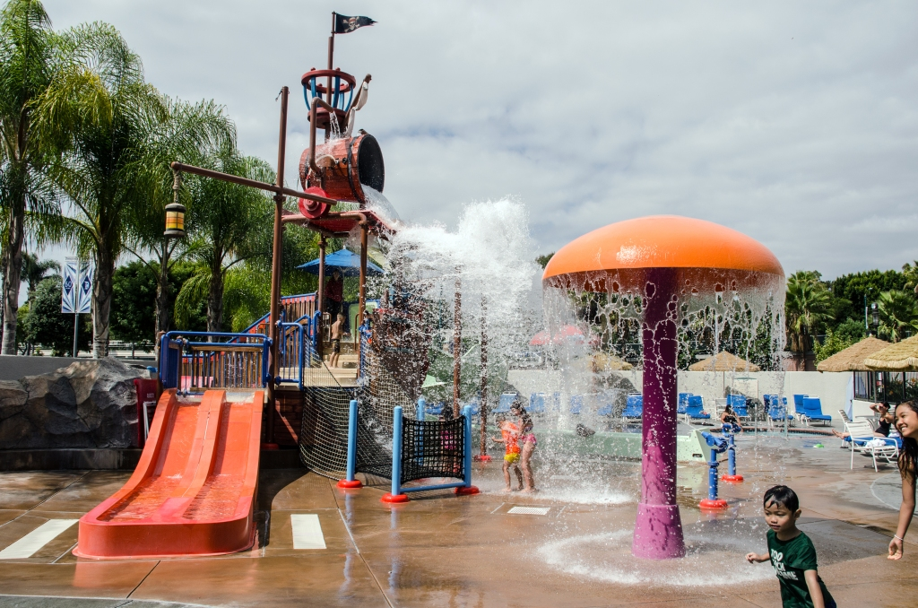 Howard Johnson water playground