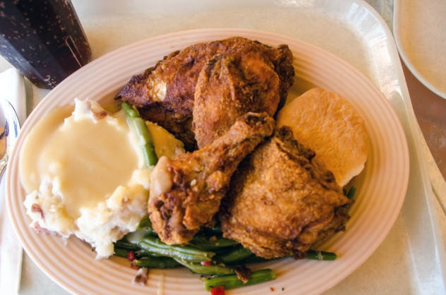 Plaza Inn chicken