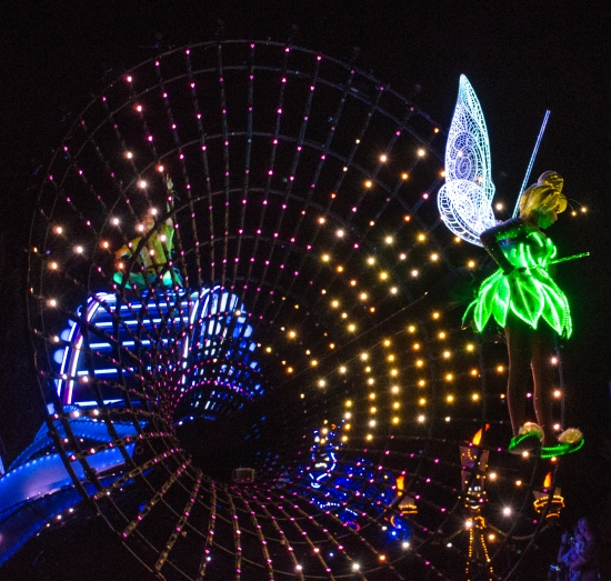 Tinkerbell with lumiere and PP