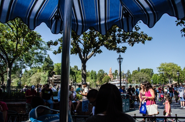 Cafe Orleans view