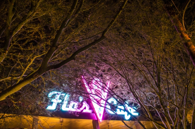 Flo's V8 night trees