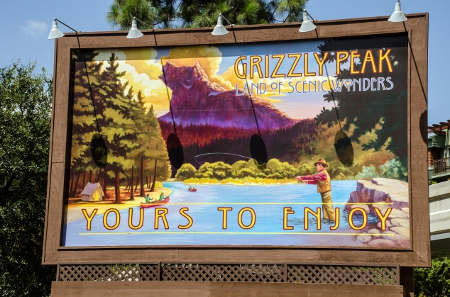 Grizzly Peak mural