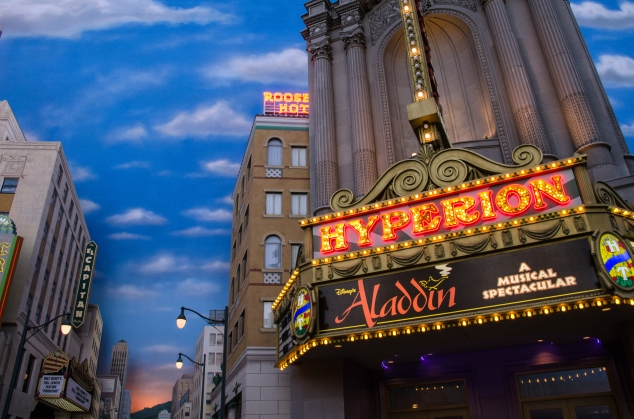 Hyperion Aladdin theater DCA