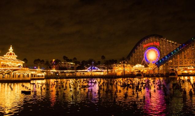 Paradise Pier left side