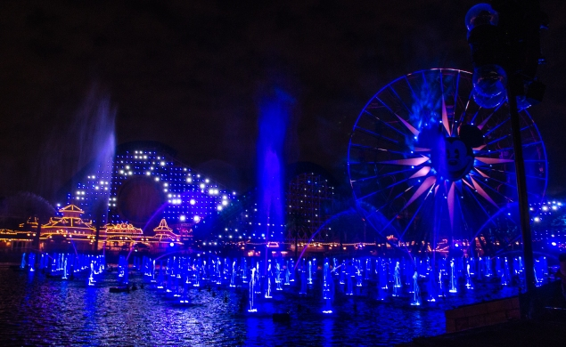 World of Color blue