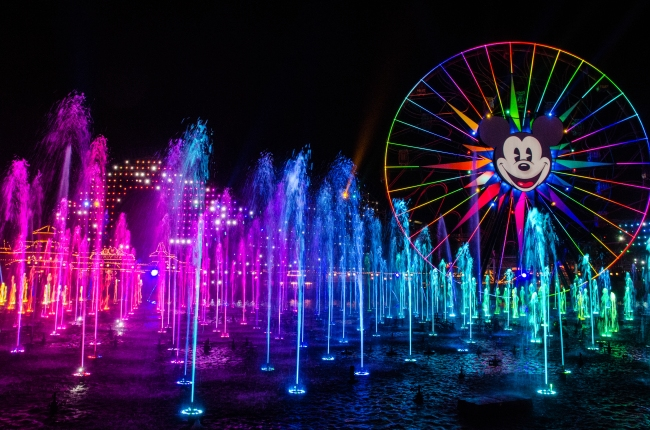 World of Color lots of colors