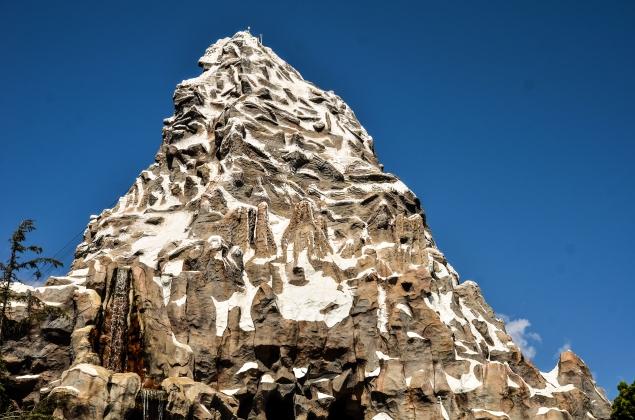 Matterhorn blue sky