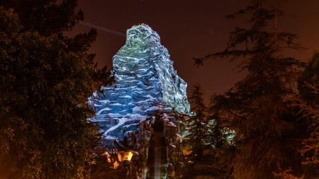 Matterhorn night waterfall