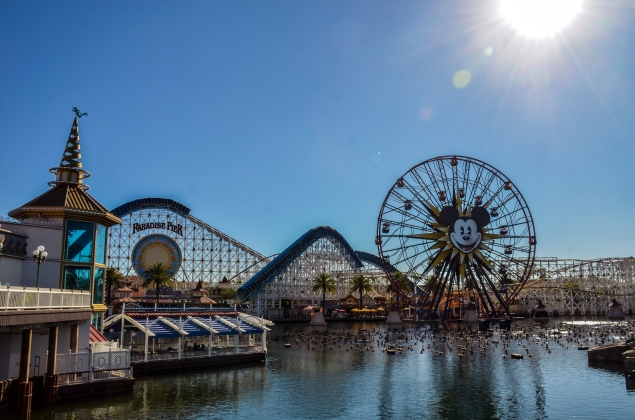 Paradise Pier from Little Mermaid