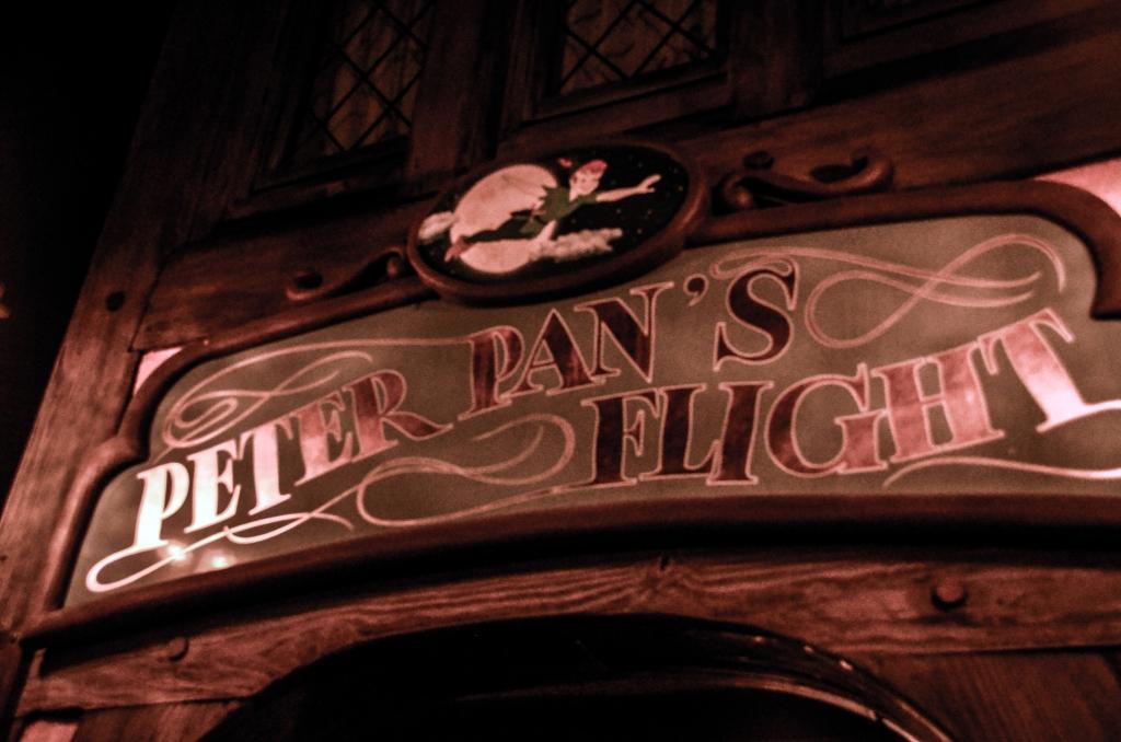 Peter Pan Sign