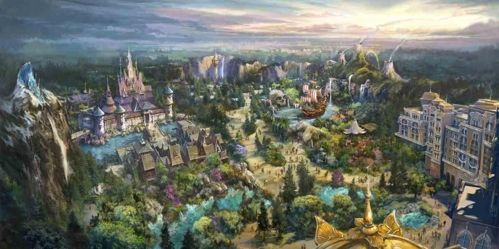 Disney's Five-Year (Construction) Plan – Wandering In Disney